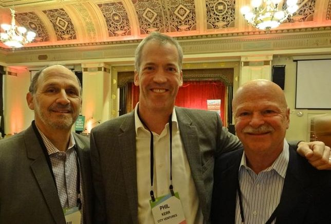 Polaris Pacific's Paul Zeger, City Ventures' Phil Kerr and First American Title's Tom Vargas