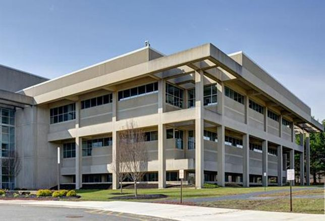 Dow Jones' headquarters campus at 4300 Route 1 North in Princeton, New Jersey
