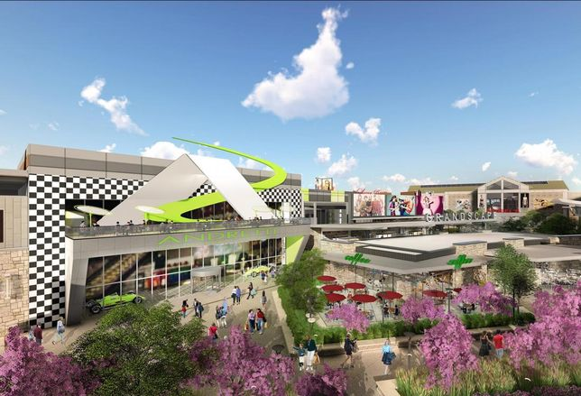 Grandscape inked three first-to-market concepts. Andretti Indoor Karting and Games leased 110K SF and will open in 2019 with more than 120 arcade games, a ropes course, racing simulators and a restaurant. Japanese restaurant Akira Back and Windmills Craftworks, a restaurant, beer, book and music concept hybrid, will both open in 2018.