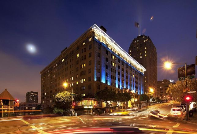 Renovation Underway At Iconic San Francisco Hotel