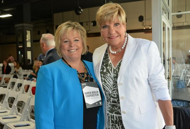 Crater Lake Consulting's Karen Berlin Cooperstein and Fort Worth Mayor Betsy Price