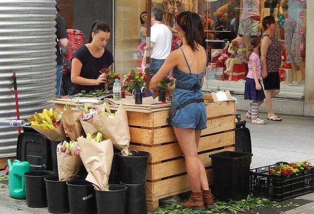 Pop-up florist, Rundle Mall