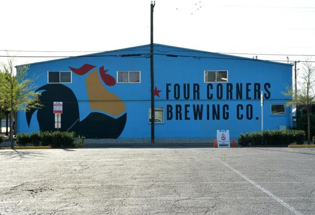 Four Corners Brewing Co. in West Dallas Trinity Groves