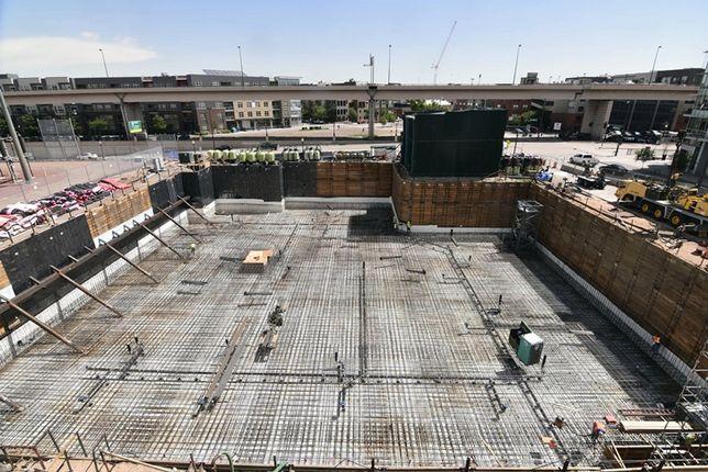 Alliance Construction Prepares For 20 Million Pound Concrete Pour At New Denver Hotel