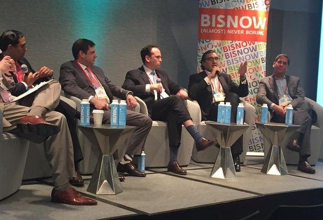 Colony Northstar's Sujan Patel, Moinian Capital Partners' Jon Chassin, GTIS' David Blum, GreenOak's Sonny Kalsi and AllianceBernstein's Brahm Cramer