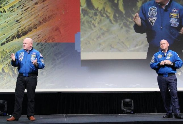 Astronauts Mark And Scott Kelly Tell BOMA 2017 Attendees To Set Goals Sky High