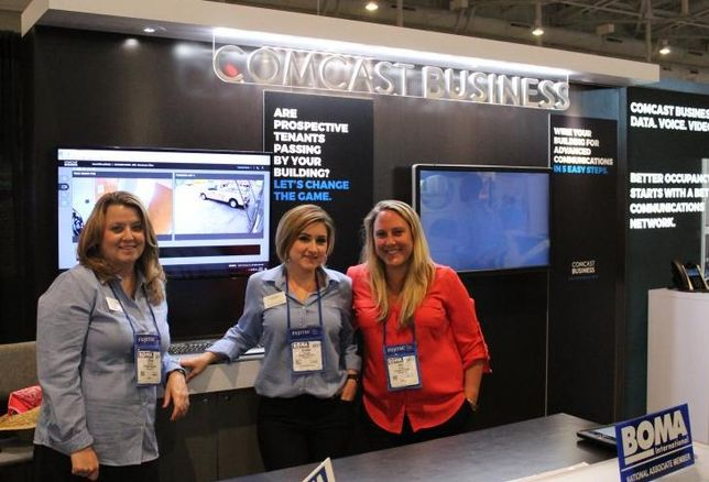Day 2 On The BOMA 2017 Expo Floor