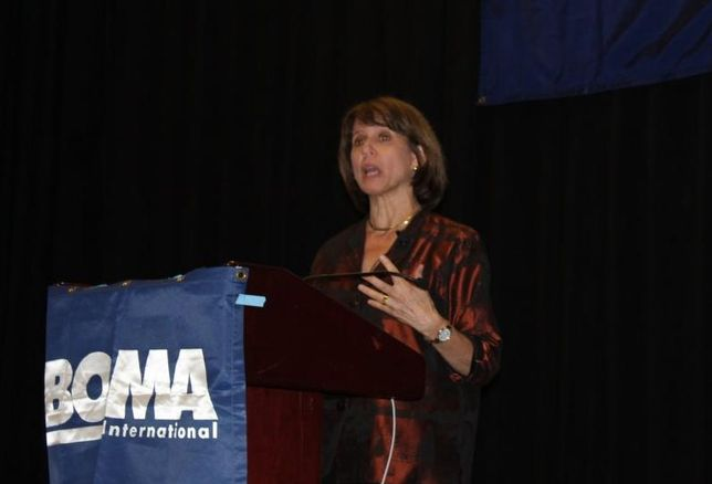 Author Stops By BOMA To Tell Women To Negotiate Away The CRE Glass Ceiling