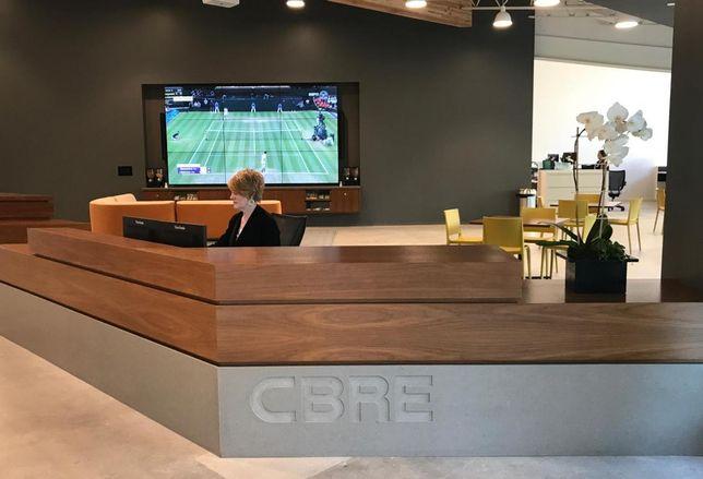 CBRE's Woodland Hills office