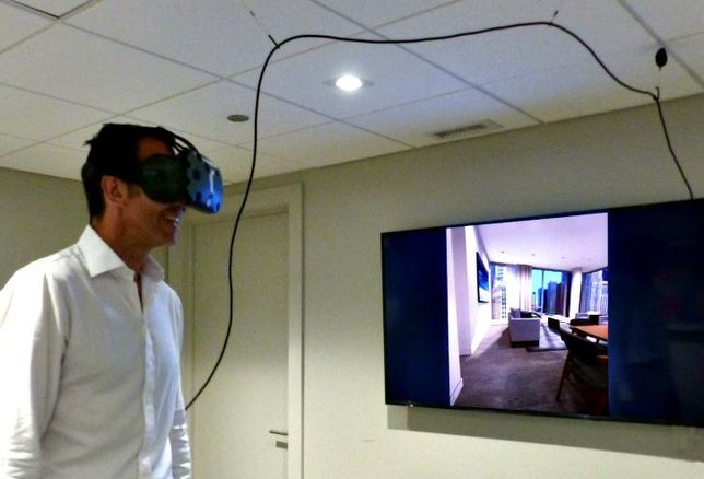 Belgravia Group is utilizing virtual reality technology as part of its sales strategy at Renelle on the River.