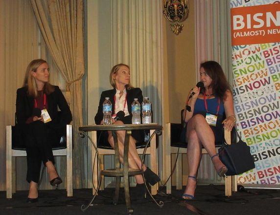 Canyon Partners Real Estate LLC Senior Managing Director & Co-Head of Real Estate Robin Potts,  Trammel Crow Residential CFO Sue O'Bannon and  Cypress Equity CFO Alla Sorochinsky at BMAC
