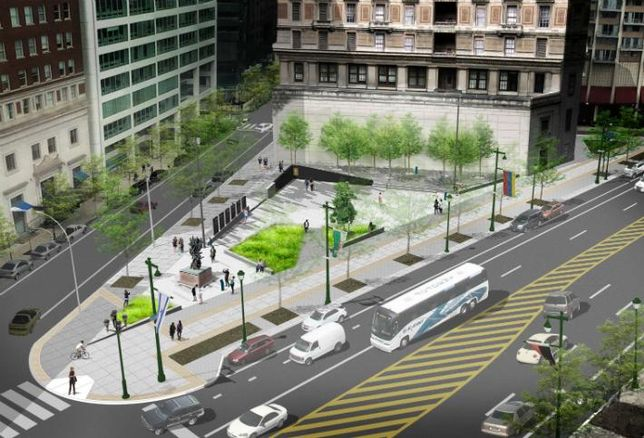 Philly CRE Leaders Plan $7M Expansion Of Ben Franklin Parkway Holocaust Memorial
