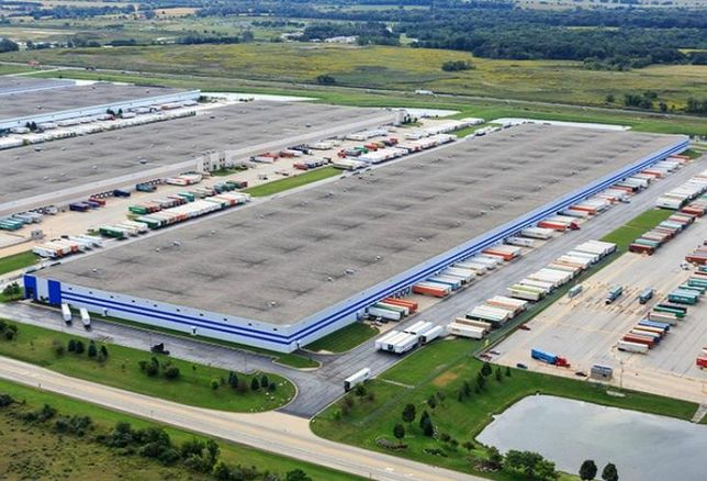 CenterPoint Properties' intermodal transport center in Joliet, Ill.