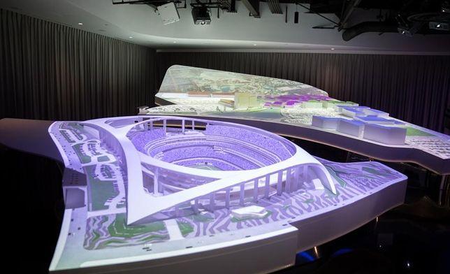 NFL Stadium Model