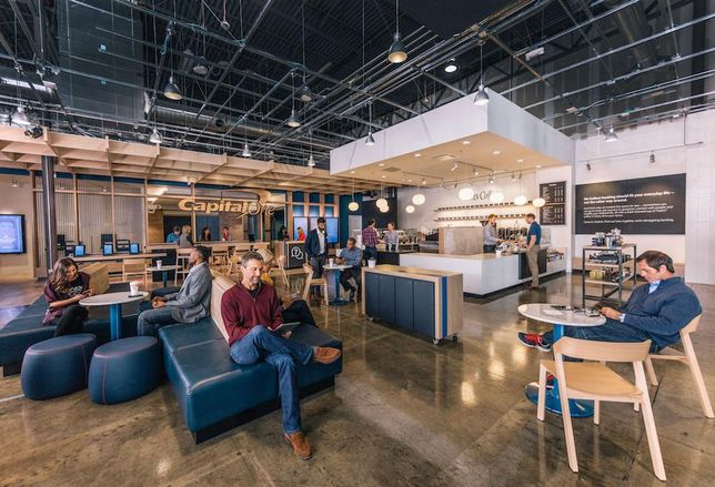 Capital One Cafe rendering