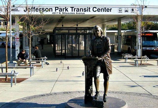 The Jefferson Park Transit Center, Chicago