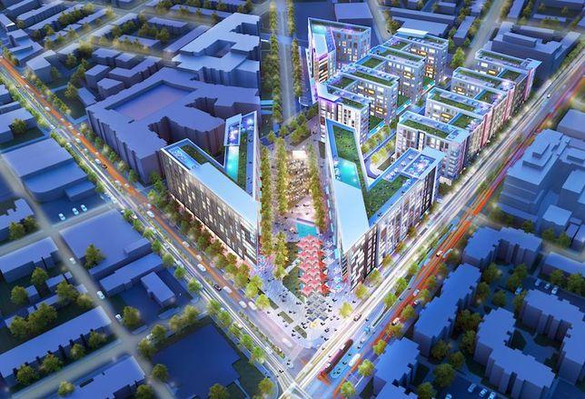 Hechinger Mall development