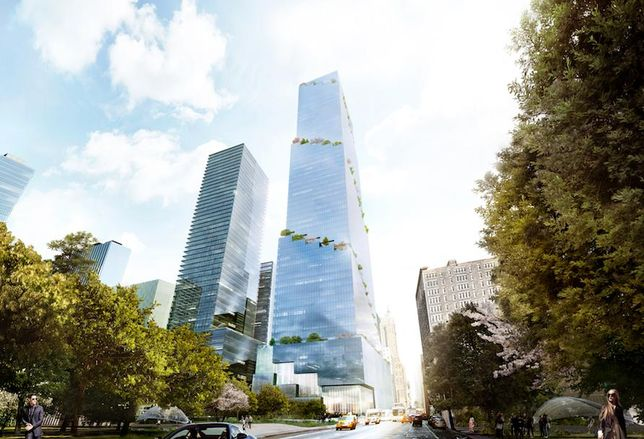 Tishman Speyer's The Spiral, designed by Bjarke Ingels Group, on the Far West Side of Manhattan.