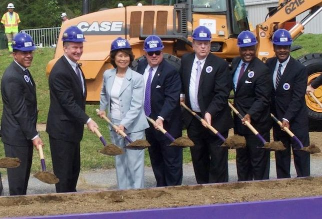 Purple Line Groundbreaking