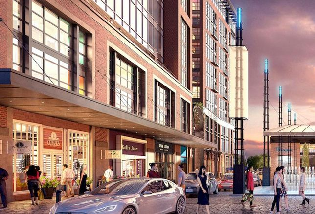 The Wharf District Square Rendering