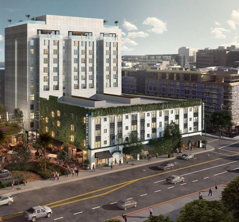 Rendering of Morrison Hotel
