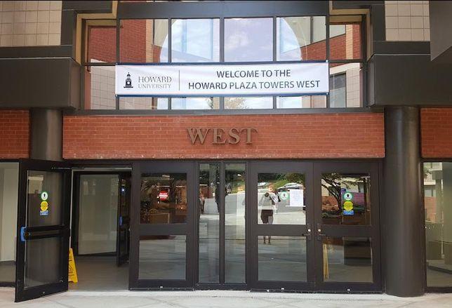 Howard University plaza towers west