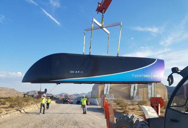 Hyperloop One XP-1 Transport