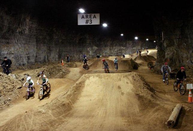 Mega Underground Bike Park, Louisville, Ken.