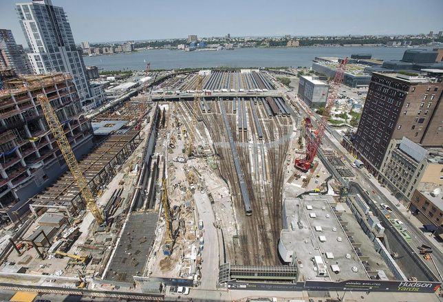 Amtrak Seeks Funding Help From The Related Cos. For Rail Tunnel Under Hudson Yards