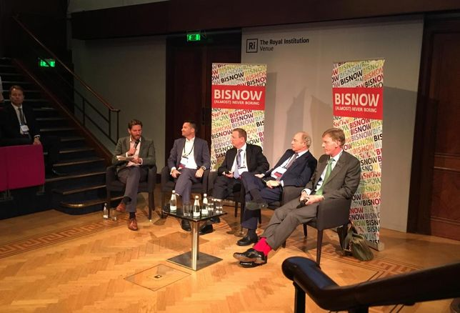 London Big Office bash 27 September 2017 panel on Investing in Office - Profiting from a Sector In Flux
