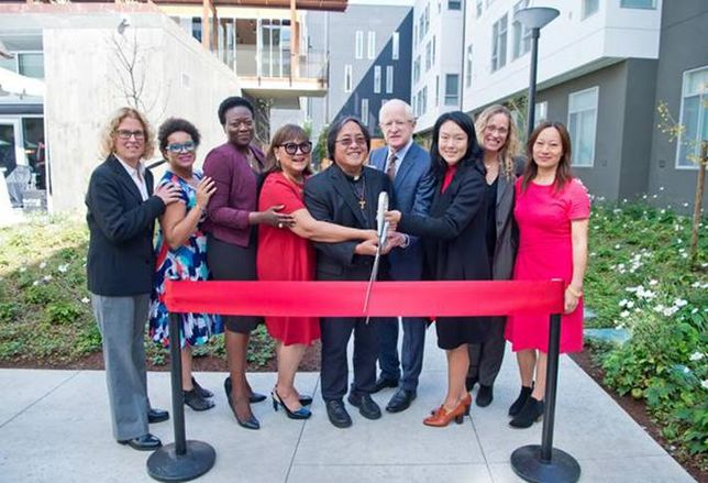 San Francisco Opens Its Largest Affordable Housing Development In Mission Bay