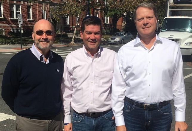 Doug Donatelli Patrick Kelly and Nicholas Smith