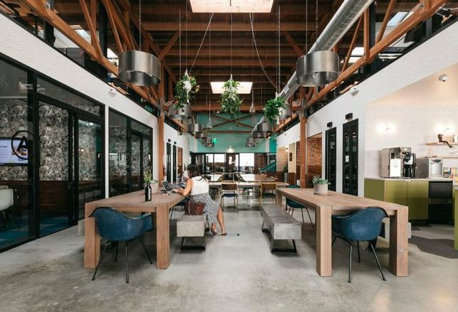 WeWork Culver City Los Angeles Commons