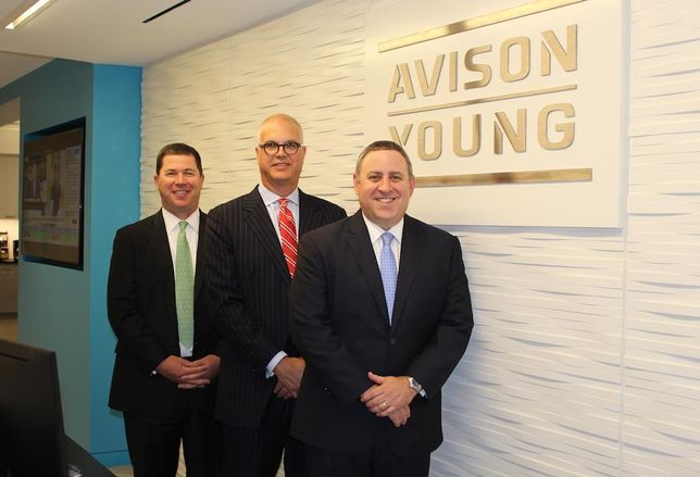 Avison Young Wesley Boatwright, Jonathan Goldstein and Michael Yavinsky