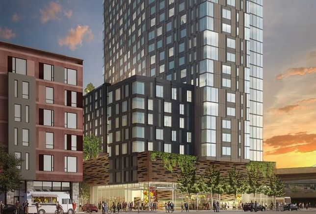 Rendering of MacArthur Station Residences / Boston Properties