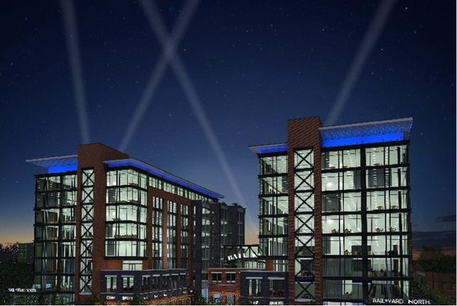 Rendering of RailYard in South End Charlotte