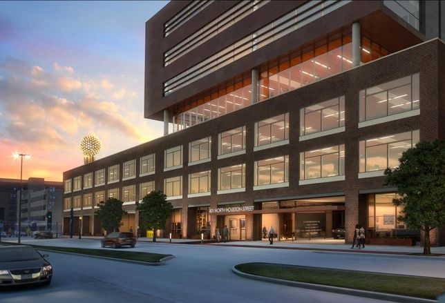 Rendering of the Luminary, 401 North Houston St.