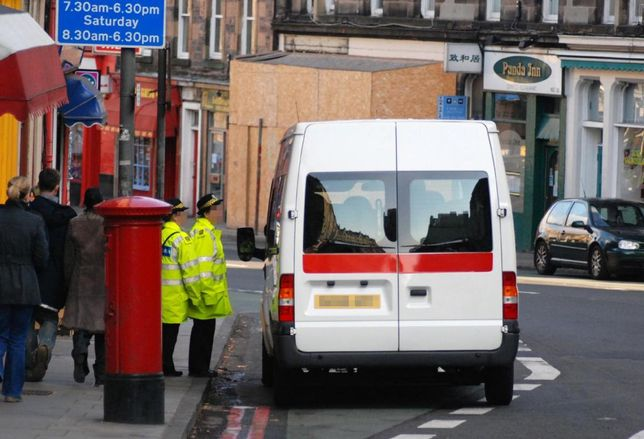 white van London delivery