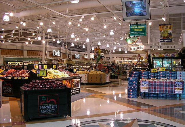 Harris Teeter, grocery store