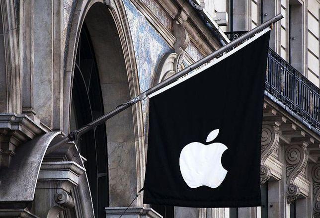 Apple Store, Regent Street, London - flag