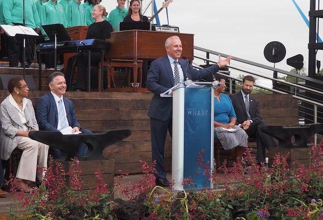 Monty Hoffman Wharf Grand Opening