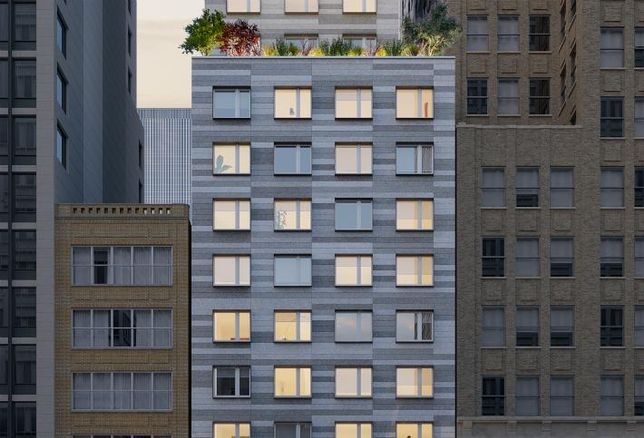 New York's Second-Tallest Passive House Building Is On The Rise In Chelsea
