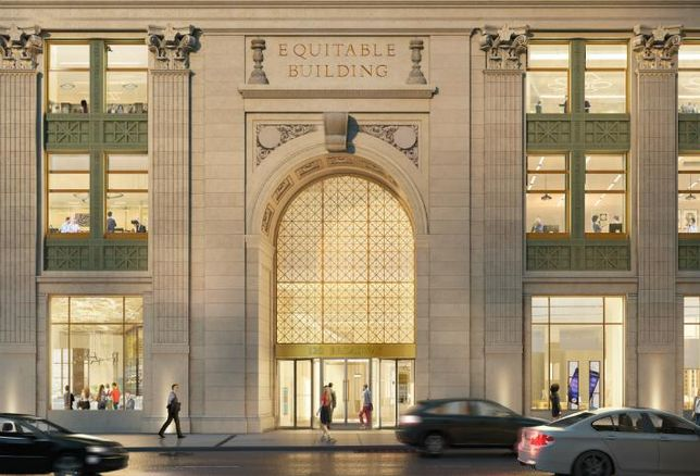 Silverstein Launches $50M Renovation Of Equitable Building