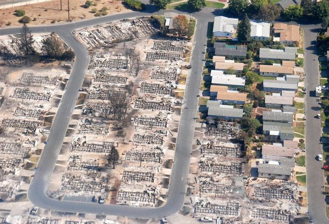 Over $1B In Initial Insured Losses Reported From Wine Country Fires