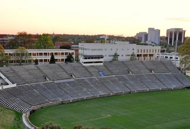 Memorial Stadium in Charlotte