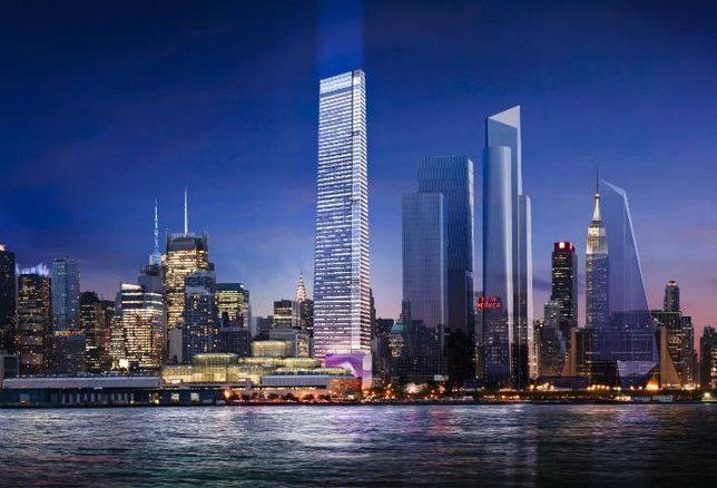 AllianceBernstein Could Anchor The Next Far West Side Tower With Its Slimmed-Down NYC Office