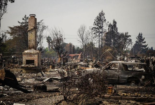 The Path To Rebuild After Wine Country Fires Will Be A Long One