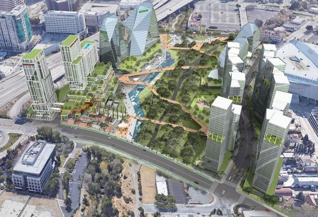 Partnership Envisions A New Kind Of Urban Campus For Downtown San Jose