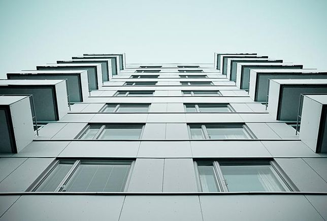 building city modern balcony