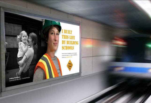 Media Campaign To Get More Women In Construction Launches In Boston